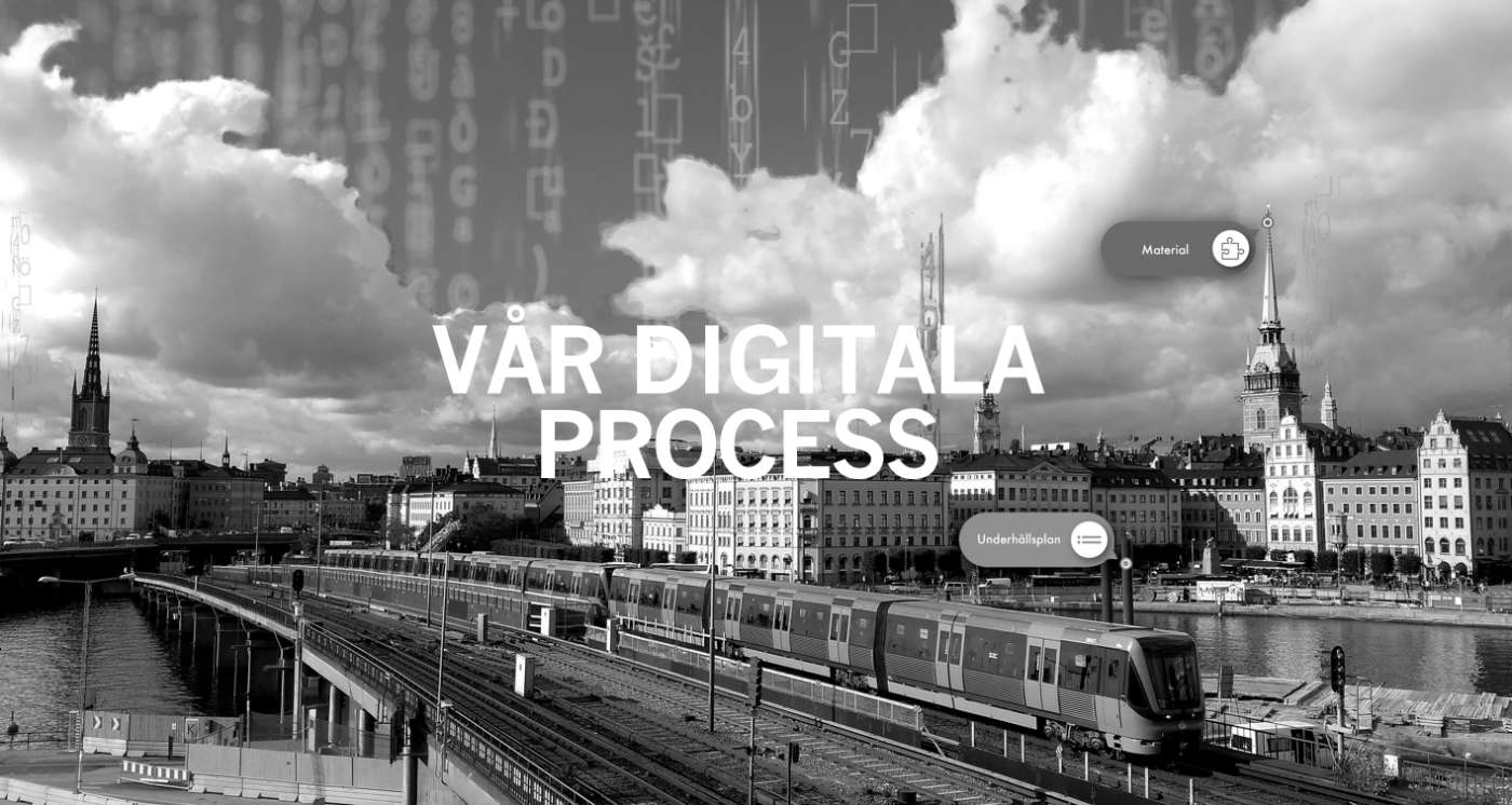 Vår digitala process